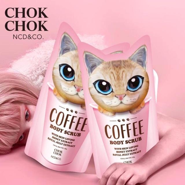 Tẩy tế bào chết Coffee Body Scrub Chok Chok - 2793506 , 1288754196 , 322_1288754196 , 350000 , Tay-te-bao-chet-Coffee-Body-Scrub-Chok-Chok-322_1288754196 , shopee.vn , Tẩy tế bào chết Coffee Body Scrub Chok Chok