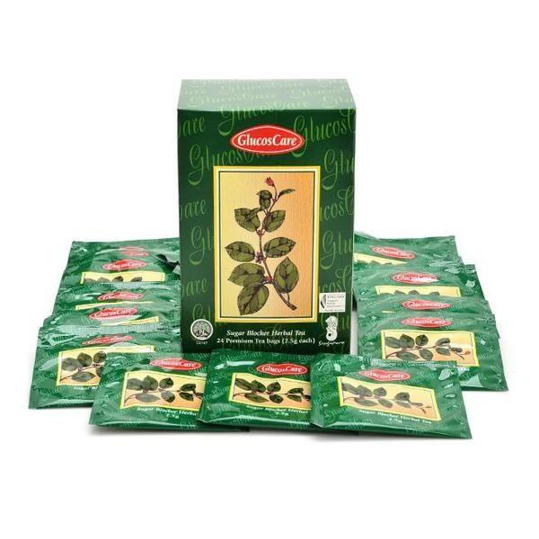 Trà thảo dược hỗ trợ ổn định đường huyết và giảm cân Glucoscare Tea 24 gói