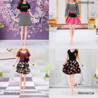 {MUV} Doll outfit beautiful party clothes dress skirt for doll best child girls'gift{FC}