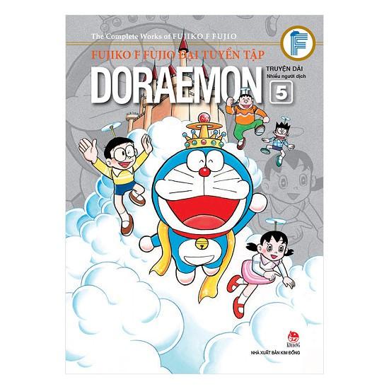 Truyện Tranh - Fujiko F Fujio Đại Tuyển Tập - Doraemon Truyện Dài (Tập 5)