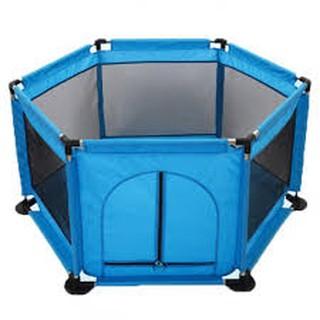 Lều bóng vải dù khung thép hình trụ tặng kèm 100 bóng