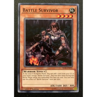 THẺ BÀI YUGIOH Battle Survivor – Common