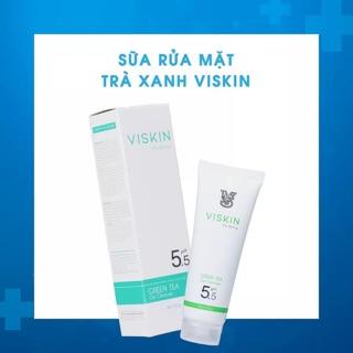 SỮA RỬA MẶT TRÀ XANH VISKIN - pH5.5 - VISKIN GREEN TEA GEL CLEANSER thumbnail