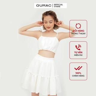 Chân váy bèo tầng GUMAC VB576 thumbnail
