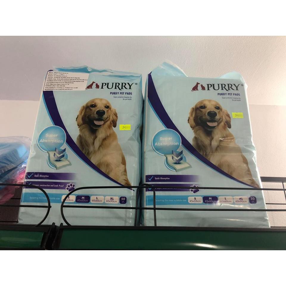 Miếng lót vệ sinh cho chó Purry
