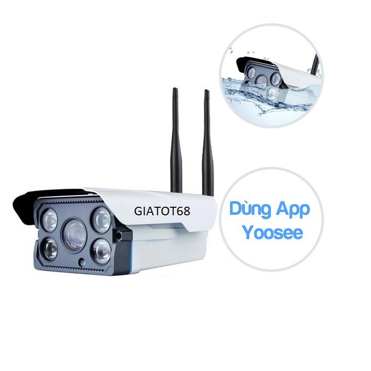 Camera IP Yoosee X5300 không dây wifi ngoài trời tặng kèm chân đế - BẢO HÀNH 1 NĂM - 3084400 , 460313199 , 322_460313199 , 589000 , Camera-IP-Yoosee-X5300-khong-day-wifi-ngoai-troi-tang-kem-chan-de-BAO-HANH-1-NAM-322_460313199 , shopee.vn , Camera IP Yoosee X5300 không dây wifi ngoài trời tặng kèm chân đế - BẢO HÀNH 1 NĂM
