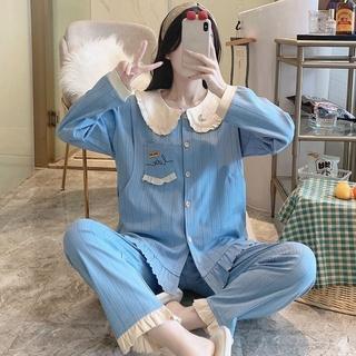 Bộ đồ ngủ thấm hút mồ hôi cho phụ nữ mang thai 7-9 tháng