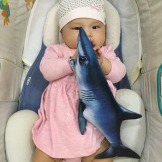 Gối ôm 3D cá Mập size cỡ nhỏ 40cm cho bé