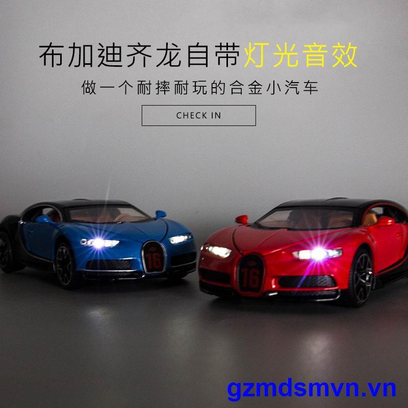 Mô Hình Xe Ô Tô Bugatti Đồ Chơi Tỉ Lệ 1: 32