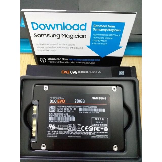 Ổ cứng SSD Samsung 860 Evo 250GB - BH 5 năm