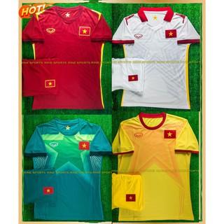 Bộ áo bóng đá Việt Nam đỏ 2021 (Hàng Thailand Super) Chuẩn thi đấu 100%