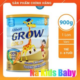 Sữa bột Abbott Grow Gold 3+ hươu cao cổ 900g chính hãng thumbnail