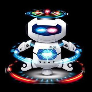 ĐỒ CHƠI ROBOT XOAY 360 ĐỘ CÓ ĐÈN – -Châm Store