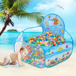 ♦[IN STOCK/COD]♦Portable Children Game Playpen Kids Play Tent