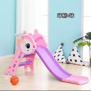 Cầu trượt cho bé ( Tặng kèm rổ và bóng )