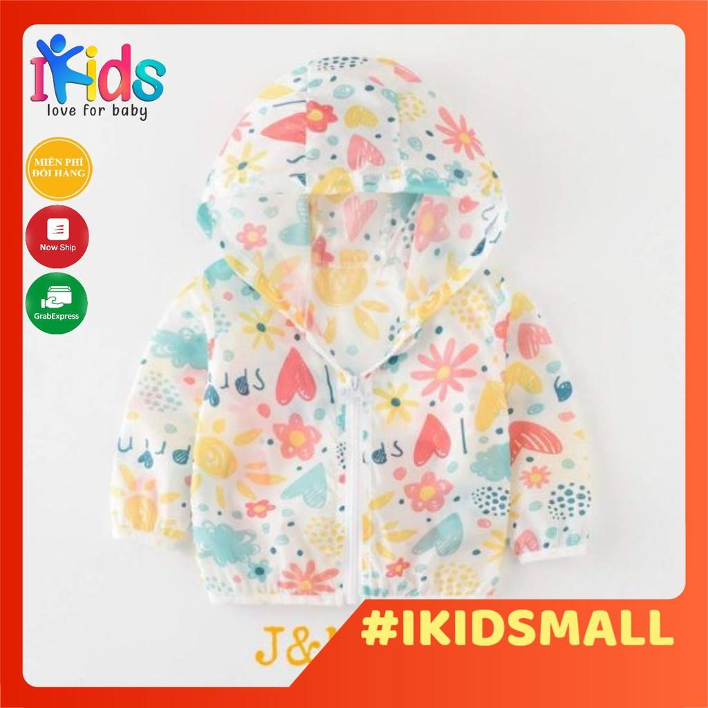 Áo Chống Nắng Xuất Hàn Chống Tia UV J&M Kids (cho bé gái)