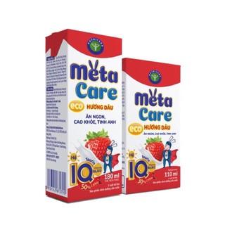 Sữa bột pha sẵn Metacare Eco đủ vị loại 180ml