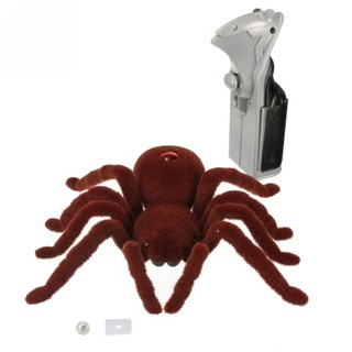 Hot Halloween Rc Spider Remote Control Noiselessly Kids Adults Prank Toy Gift Us
