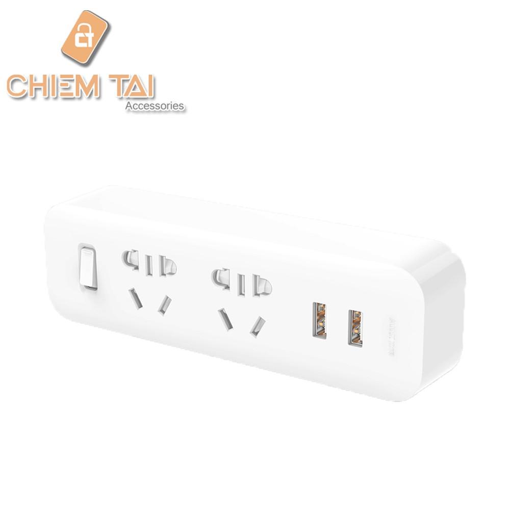 Ổ cắm tích hợp 2 đầu 2 cổng USB Xiaomi