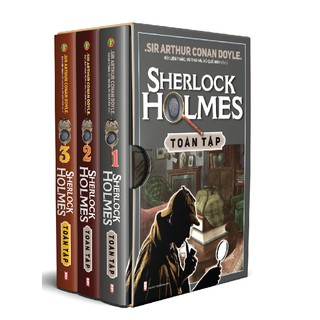 Sách - Sherlock Holmes Trọn Bộ 3 Tập