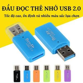 Đầu đọc thẻ nhớ cổng USB 2.0 Microsd Tf chất lượng cao thumbnail