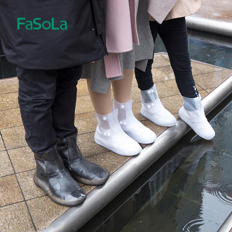 Bọc giày đi mưa, ủng đi mưa cao cấp Fasola