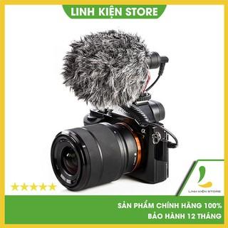Micro Thu Âm Cao Cấp Boya BY-MM1 dùng cho máy ảnh DSLR, action camera, điện thoại - Bảo hành 12 tháng