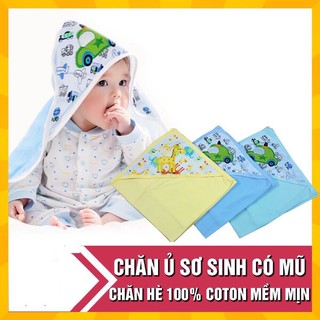 Chăn ủ cotton có mũ hàng Fusi Việt Nam