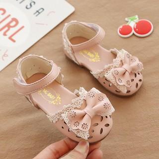 [FREESHIP] Giày Bé Gái /Giày Trẻ Em Nơ Hoa Siêu Đáng Yêu Cho Bé Từ 1 Đến 4 Tuổi