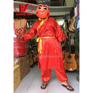 Trang phục quần áo ông địa màu đỏ