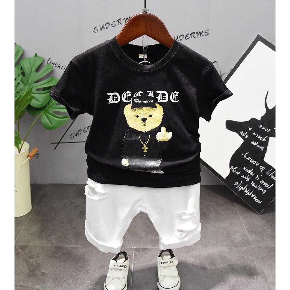 Áo thun hình chú gấu TBKA05
