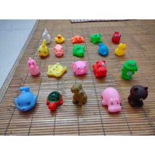 [SIÊU NHIỀU] Đồ chơi set 20 con vật khác nhau cho bé