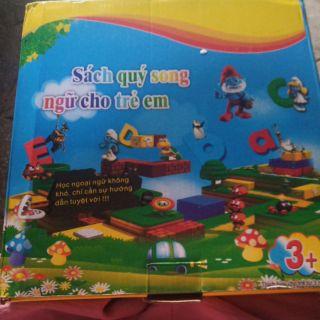 sách song ngữ trẻ em