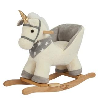 Đồ chơi vận động cho bé 9 tháng trở lên - Ngựa gỗ bập bênh cho bé có nhạc Tiny love tuổi thơ cho con - Tiêu chuẩn EU71