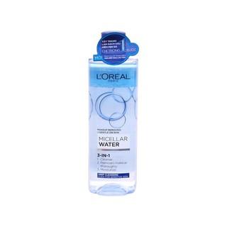 Nước tẩy trang L'Oreal Paris Làm sạch sâu 400ml (Xanh đậm)