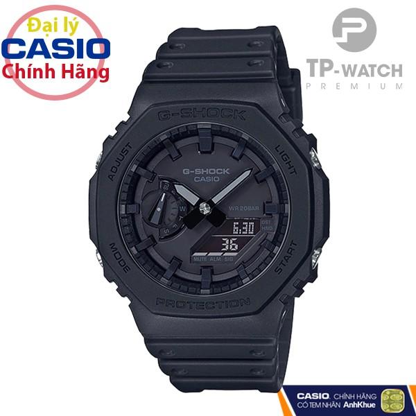 Đồng hồ nam Casio G-SHOCK GA-2100-1A1DR chính hãng | GA-2100-1A1 Carbon Core