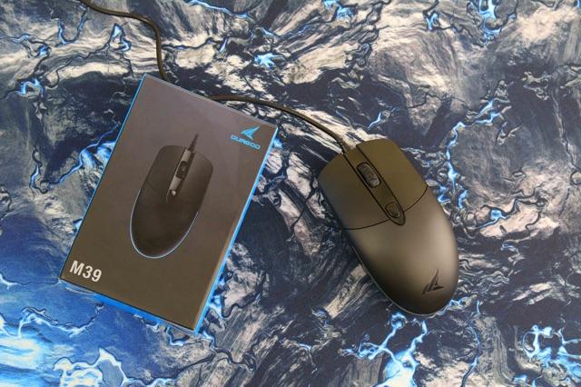 Chuột chơi game Durgod M39 Led RGB 3200DPI- Chính Hãng - Bảo hành 24 tháng