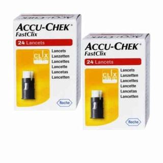 [Chính hãng] -Kim lấy máu dùng cho máy Accu-Chek Performa và Accu-Chek Guide-- Accu-Chek FastClix 24 Kim (ĐỨC) thumbnail