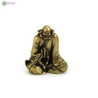 Brass Figurines Carvings Buddha Statues Home Decoration Display Accessories Miniature Ornaments 1pc High quality