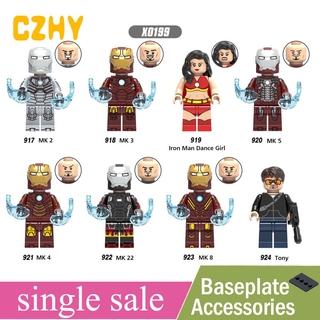 Mô Hình Lắp Ráp Lego Nhân Vật Iron Man X0199 thumbnail