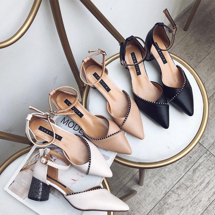 order giày cao gót đế 5cm