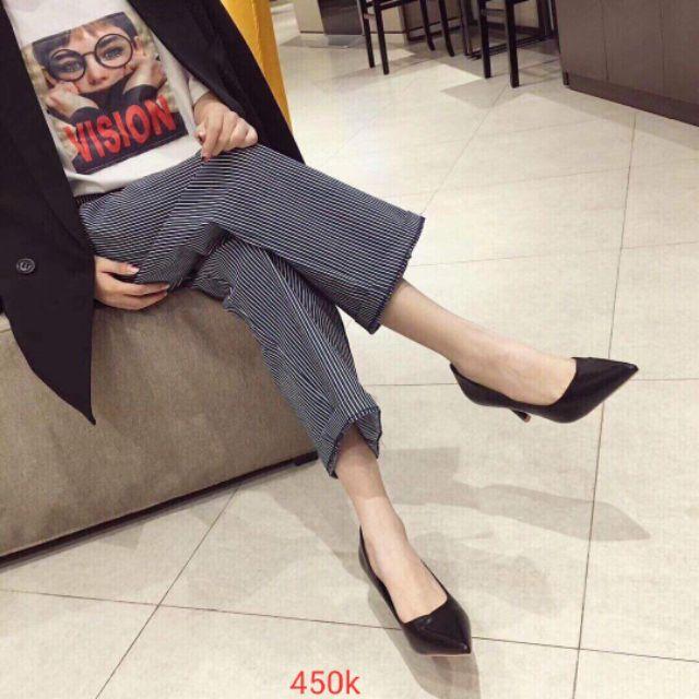 Giày cao gót dưới 7cm