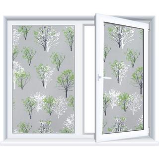Kính cửa sổ tĩnh điện dán cửa sổ nhỏ tươi mờ đục chống ánh sáng di chuyển cửa nhà vệ sinh phòng tắm Cửa Sổ Cửa Sổ Hoa gi