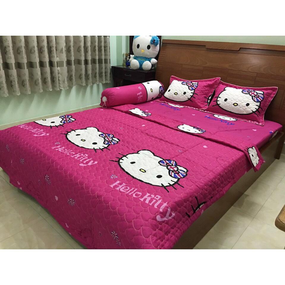 Bộ Chăn Drap Giường Cotton Poly Tmark 15 (Hello Kitty Đơn Sắc) - 2616274 , 584833139 , 322_584833139 , 233550 , Bo-Chan-Drap-Giuong-Cotton-Poly-Tmark-15-Hello-Kitty-Don-Sac-322_584833139 , shopee.vn , Bộ Chăn Drap Giường Cotton Poly Tmark 15 (Hello Kitty Đơn Sắc)