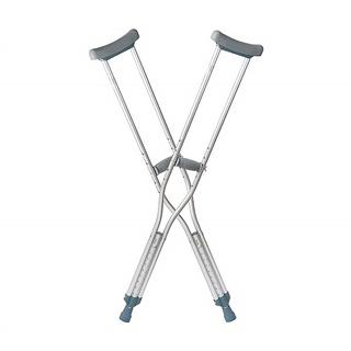 Nạng nách hợp kim nhôm cao cấp LUCASS C25 - Nạng tập đi cho người khuyết tật, người bị tai nạn phục hồi chức năng thumbnail