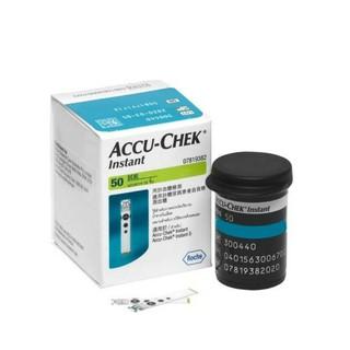 Que thử đường huyết Accu chek Instant Hộp 50 que