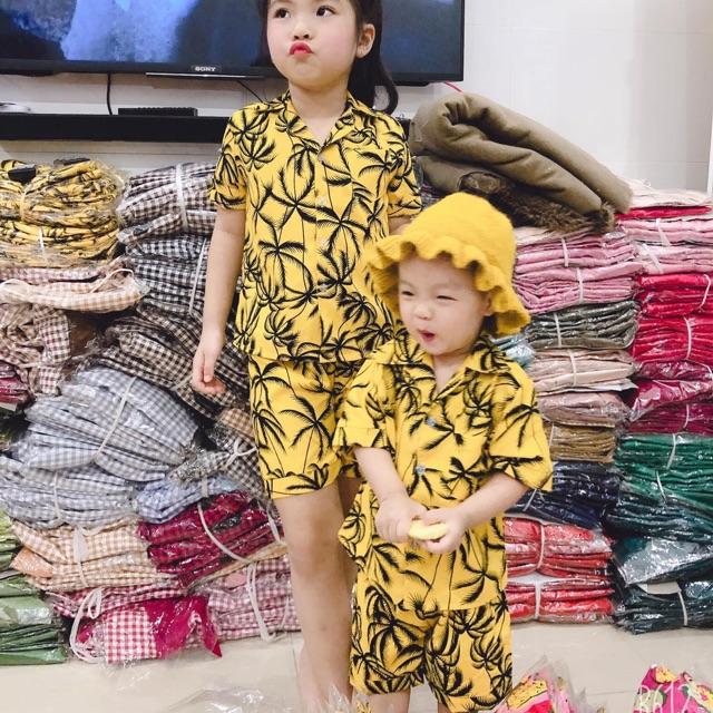 Bộ katê bé gái bá trai mặc được hết nhé
