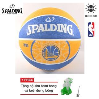 Bóng rổ Spalding NBA Team Golden State Warriors Outdoor size 7