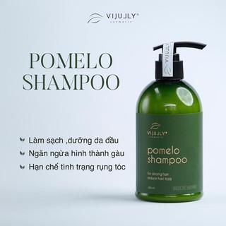 [100% CHÍNH HÃNG ] Dầu Gội Bưởi ViJully , giảm rụng tóc, kích mọc tóc , làm sạch khoẻ da đầu