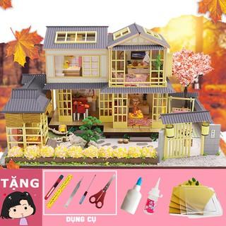 Mô hình nhà búp bê tự ráp Thị trấn Nhật bản